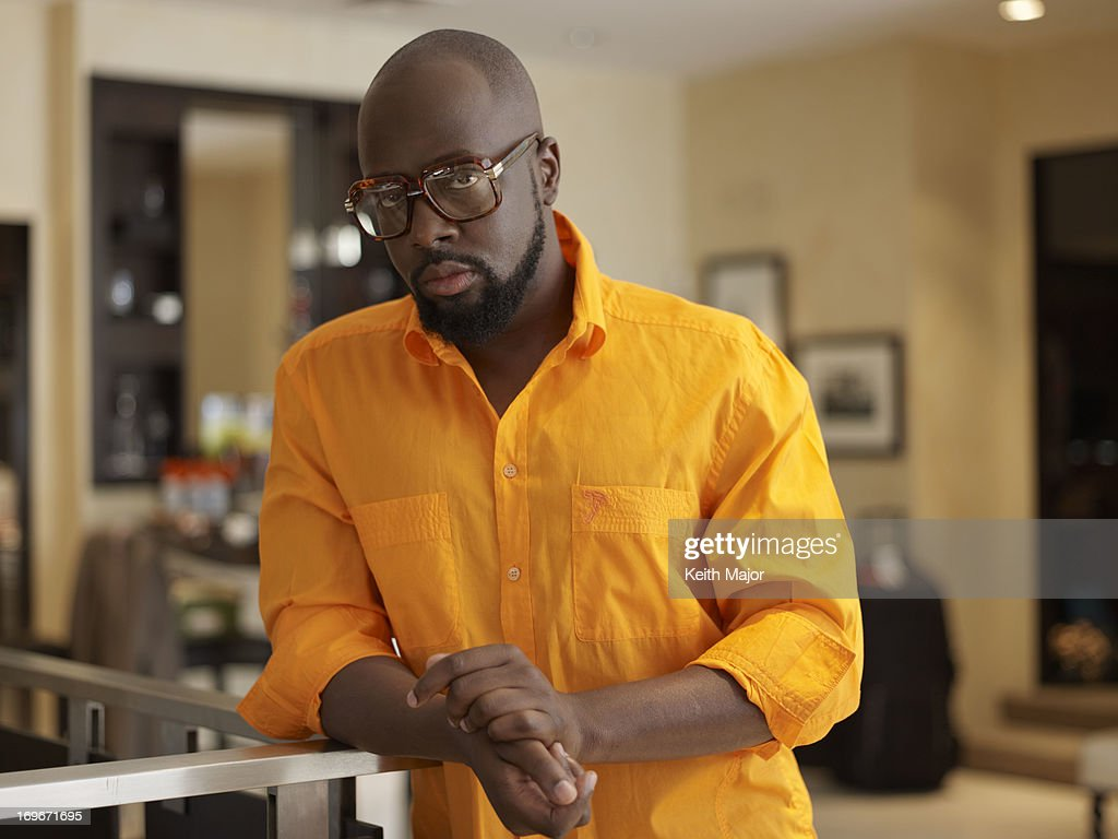 Rapper Wyclef Jean is photographed for Rolling Out Magazine on September 10, 2012 in New York City.