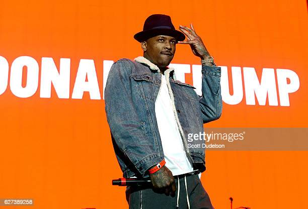 Rapper YG performs onstage during Power 106 Cali Christmas at The Forum on December 2 2016 in Inglewood California