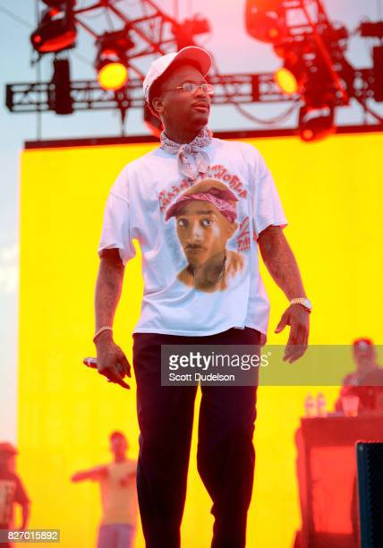 Rapper YG performs onstage during Summertime in the LBC festival on August 5 2017 in Long Beach California