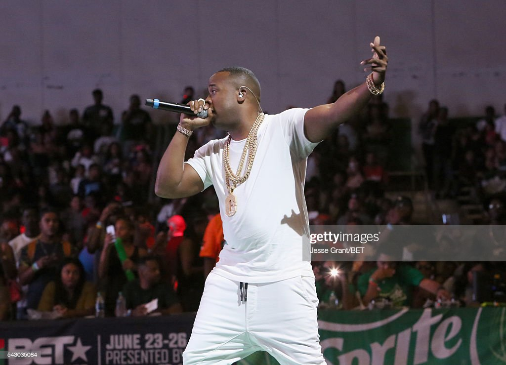 Rapper <a gi-track='captionPersonalityLinkClicked' href=/galleries/search?phrase=Yo+Gotti&family=editorial&specificpeople=608327 ng-click='$event.stopPropagation()'>Yo Gotti</a> performs at the celebrity basketball game presented by Sprite during the 2016 BET Experience on June 25, 2016 in Los Angeles, California.