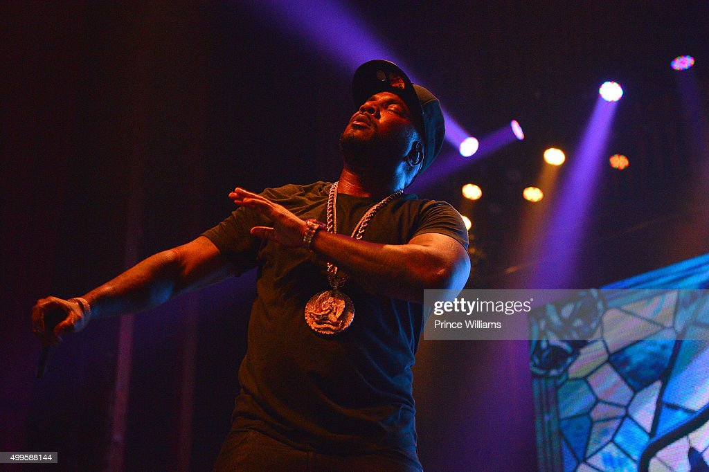 Rapper Young Jeezy performs at The Tabernacle on November 25 2015 in Atlanta Georgia