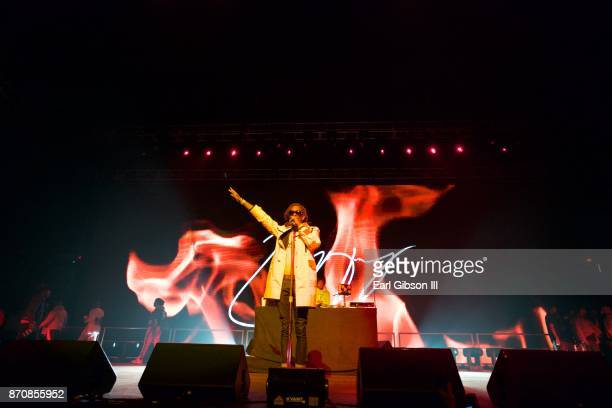 Rapper Young Thug performs at ComplexCon 2017 on November 5 2017 in Long Beach California