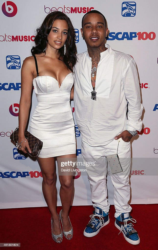 Rapper Yung Berg (R) and guest attend the ASCAP 27th Annual Rhythm & Soul Music Awards at The Beverly Hilton Hotel on June 26, 2014 in Beverly Hills, California.