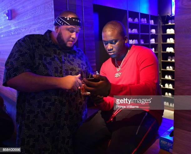 Rapper Zoey Dollaz attends Baller Alert's Bowl With Baller at Basement Bowl on October 5 2017 in Miami Florida