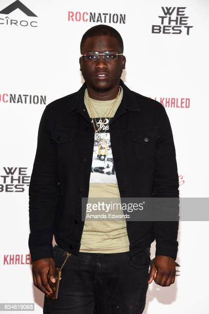 Rapper Zoey Dollaz attends DJ Khaled's special press conference where DJ Khaled announced the title of his new album is going to be 'Grateful' at The...