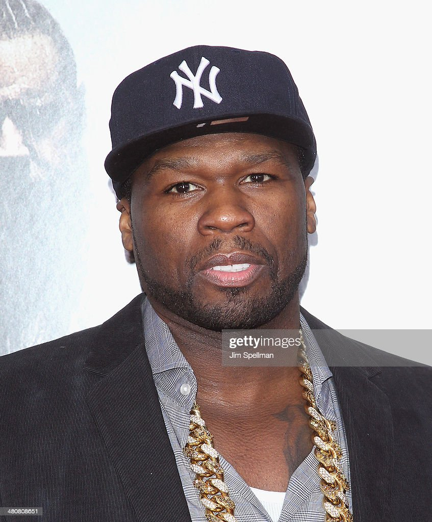 Rapper/actor <a gi-track='captionPersonalityLinkClicked' href=/galleries/search?phrase=50+Cent+-+Rapper&family=editorial&specificpeople=215363 ng-click='$event.stopPropagation()'>50 Cent</a> attends the 'Noah' New York Premiere at Ziegfeld Theatre on March 26, 2014 in New York City.