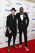 Rapper/actor Colson Baker and basketball player/producer Amare Stoudemire attend the 'Beyond The Lights' New York Premiere at Regal Union Square on...