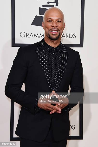 Rapperactor Common attends The 58th GRAMMY Awards at Staples Center on February 15 2016 in Los Angeles California
