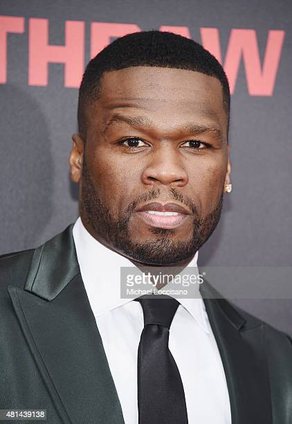 Rapper/actor Curtis '50 Cent' Jackson attends the New York premiere of 'Southpaw' for THE WRAP at AMC Loews Lincoln Square on July 20 2015 in New...