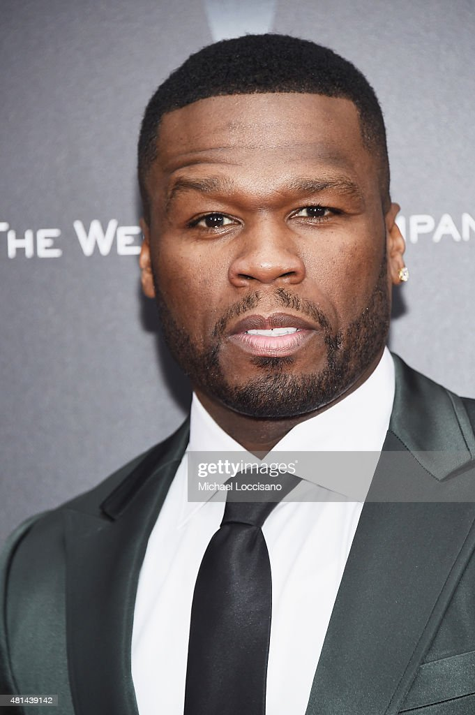 Rapper/actor Curtis '<a gi-track='captionPersonalityLinkClicked' href=/galleries/search?phrase=50+Cent+-+Rapper&family=editorial&specificpeople=215363 ng-click='$event.stopPropagation()'>50 Cent</a>' Jackson attends the New York premiere of 'Southpaw' for THE WRAP at AMC Loews Lincoln Square on July 20, 2015 in New York City.