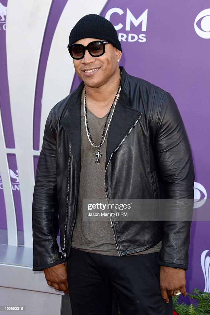 Rapper/actor LL Cool J arrives at the 48th Annual Academy of Country Music Awards at the MGM Grand Garden Arena on April 7, 2013 in Las Vegas, Nevada.