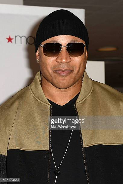Rapper/actor LL Cool J attends Macy's Downtown Los Angeles hosts SIS by Simone I Smith trunk show at Macy's Downtown Los Angeles on November 14 2015...