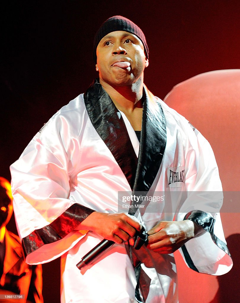 Rapper/actor <a gi-track='captionPersonalityLinkClicked' href=/galleries/search?phrase=LL+Cool+J&family=editorial&specificpeople=201567 ng-click='$event.stopPropagation()'>LL Cool J</a> performs his song, 'Mama Said Knock You Out' at the Keep Memory Alive foundation's 'Power of Love Gala' celebrating Muhammad Ali's 70th birthday at the MGM Grand Garden Arena February 18, 2012 in Las Vegas, Nevada. The event benefits the Cleveland Clinic Lou Ruvo Center for Brain Health and the Muhammad Ali Center.