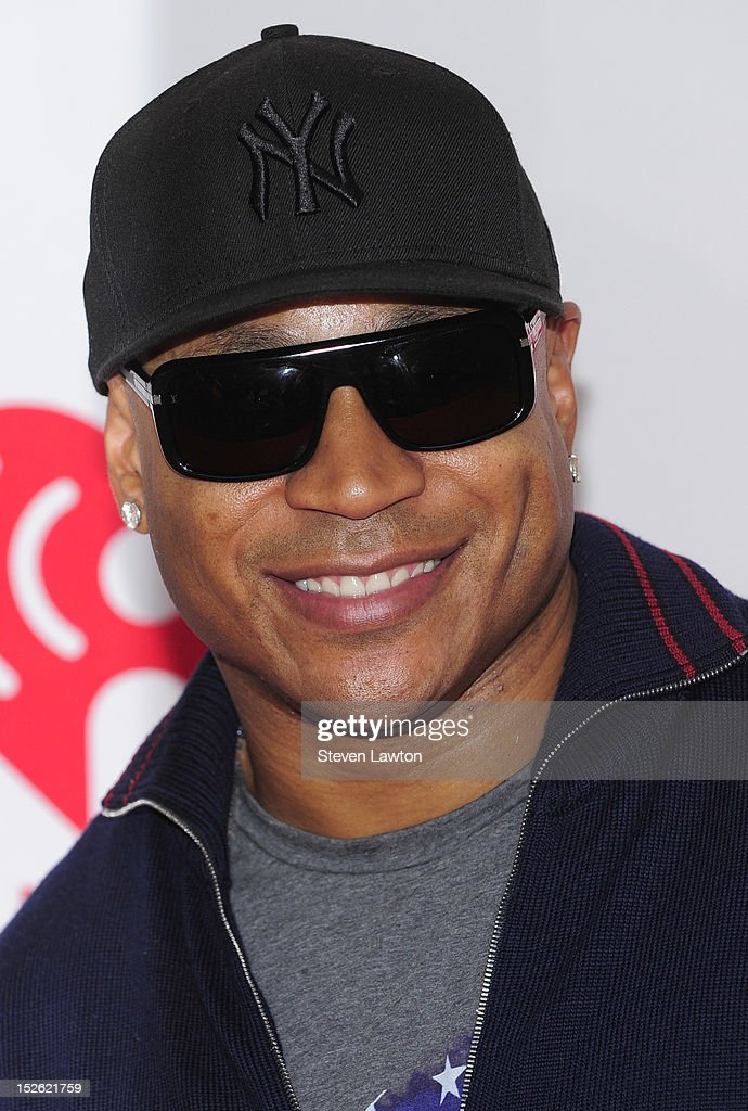 Rapper/actor LL Cool J poses in the press room at the iHeartRadio Music Festival at the MGM Grand Garden Arena September 21, 2012 in Las Vegas, Nevada.