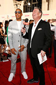Rapper/actor Ludacris and radio personality Elvis Duran attend the 2015 iHeartRadio Music Awards which broadcasted live on NBC from The Shrine...