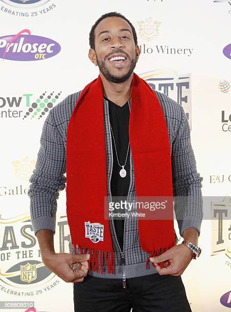 Rapper/actor Ludacris attends Taste of the NFL 25th anniversary Party With A Purpose at Cow Palace on February 6 2016 in San Francisco California