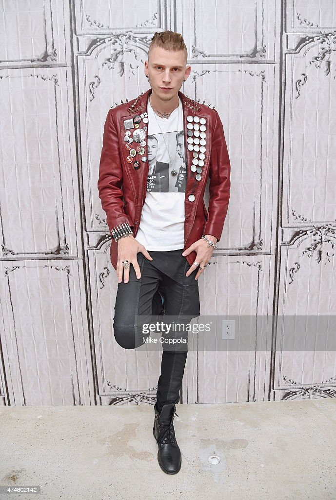 Rapper/actor Machine Gun Kelly attends the AOL BUILD Speaker Series Machine Gun Kelly at AOL Studios In New York on May 26 2015 in New York City