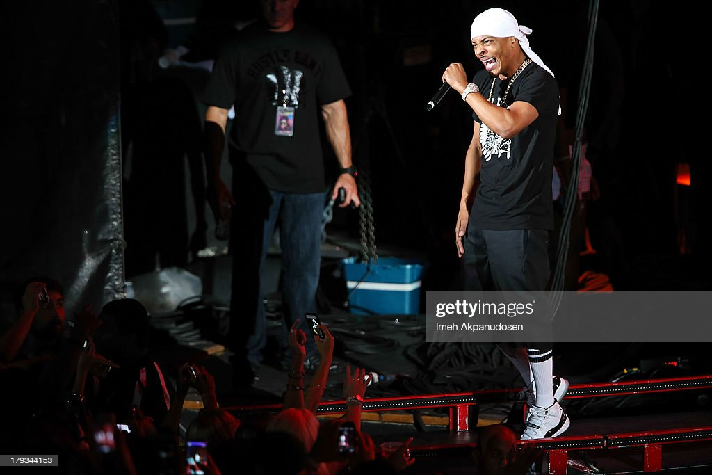 Rapper/actor Tip 'T.I.' Harris performs during the 2013 America's Most Wanted Musical Festival at Verizon Wireless Amphitheatre on September 1, 2013 in Laguna Hills, California.