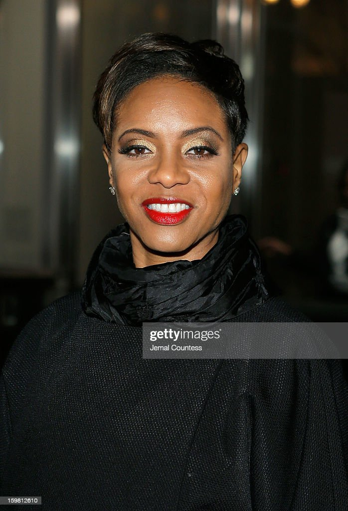 Rapper/actress MC Lyte attends The Hip-Hop Inaugural Ball II at Harman Center for the Arts on January 20, 2013 in Washington, DC.