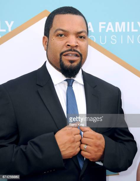Rapper/honoree Ice Cube attends LA Family Housing 2017 awards at The Lot on April 27 2017 in West Hollywood California