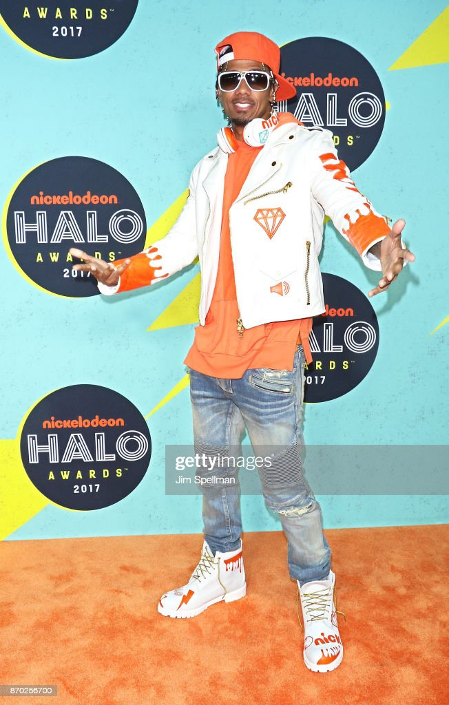 Rapper/host Nick Cannon attends the Nickelodeon Halo Awards 2017 at Pier 36 on November 4, 2017 in New York City.