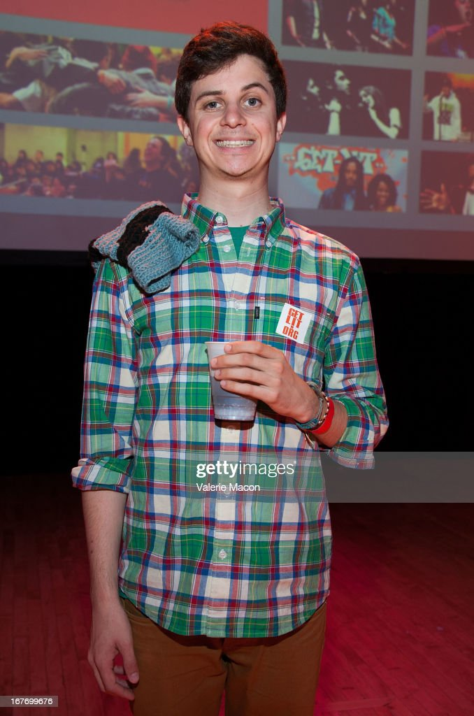 Rapper/Poet George Watsky attends Get Lit Presents The 2nd Annual Classic Slam at Orpheum Theatre on April 27, 2013 in Los Angeles, California.