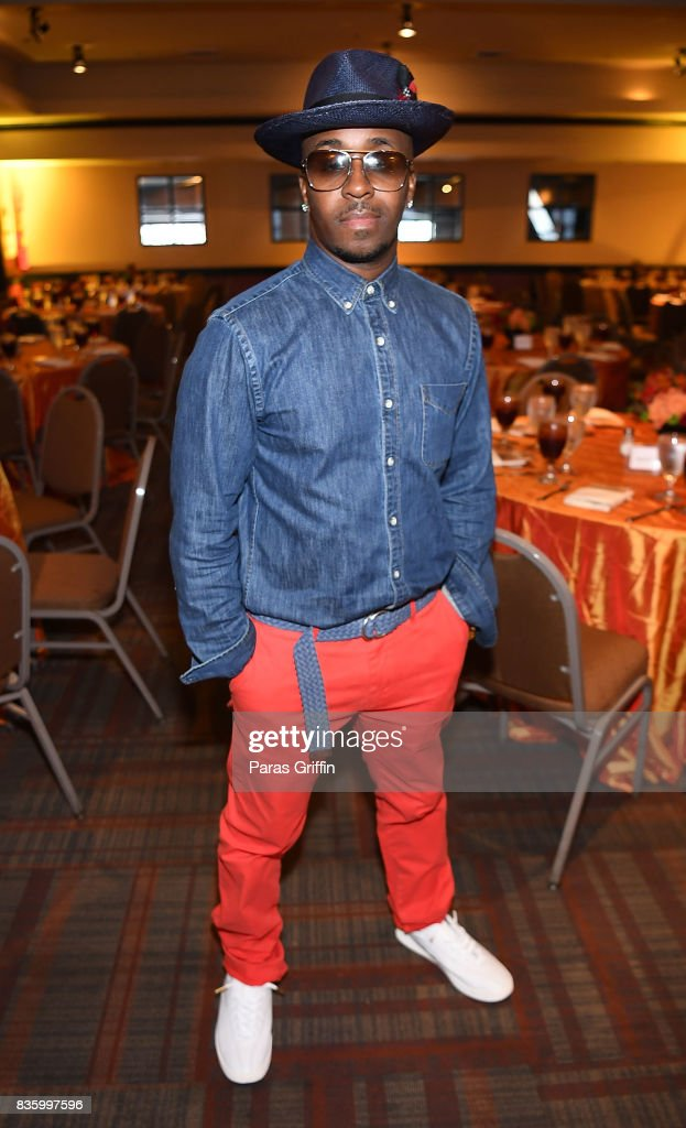 Rapper/producer Kwame at Upscale Magazine's Brunch Style featuring Vivian Green on August 20, 2017 in Atlanta, Georgia.