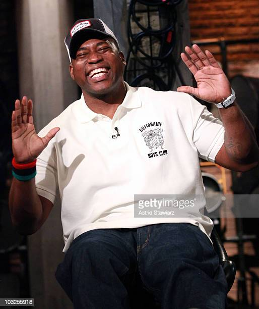 Rapper/Record Producer David Banner drops by Fuse's 'Hip Hop Shop' airing Wednesday August 11 2010 at 11pm fuse Studios on August 5 2010 in New York...
