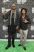 Rappers 2 Chainz and Skooly attend the BET Hip Hop Awards 2014 presented by Sprite at Boisfeuillet Jones Atlanta Civic Center on September 20 2014 in...