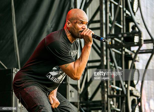 Rappers Darryl 'DMC' McDaniels of RUN DMC performs during the 2014 Music Midtown Festival at Piedmont Park on September 19 2014 in Atlanta Georgia