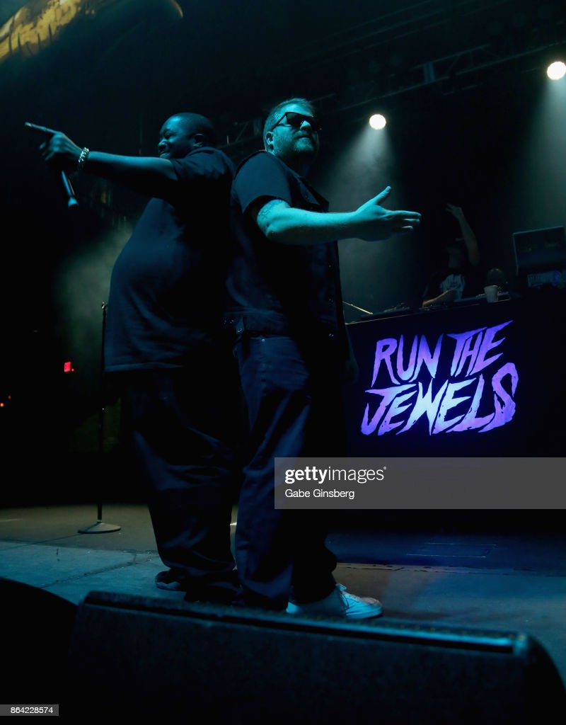 Run The Jewels In Concert At Brooklyn Bowl Las Vegas