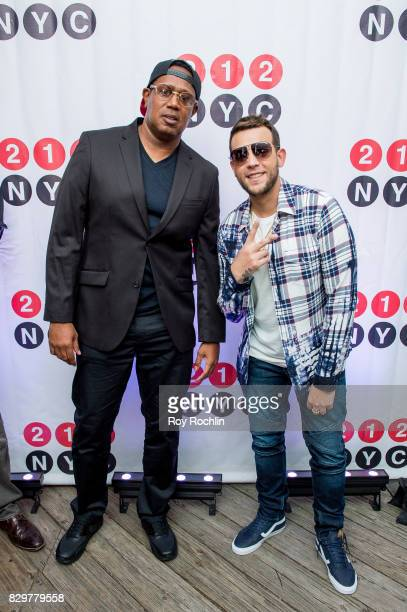 Rappers Master P and Messiah El Artista attend the 9th Annual 212NYC Summer Party at Pier 16 on August 10 2017 in New York City
