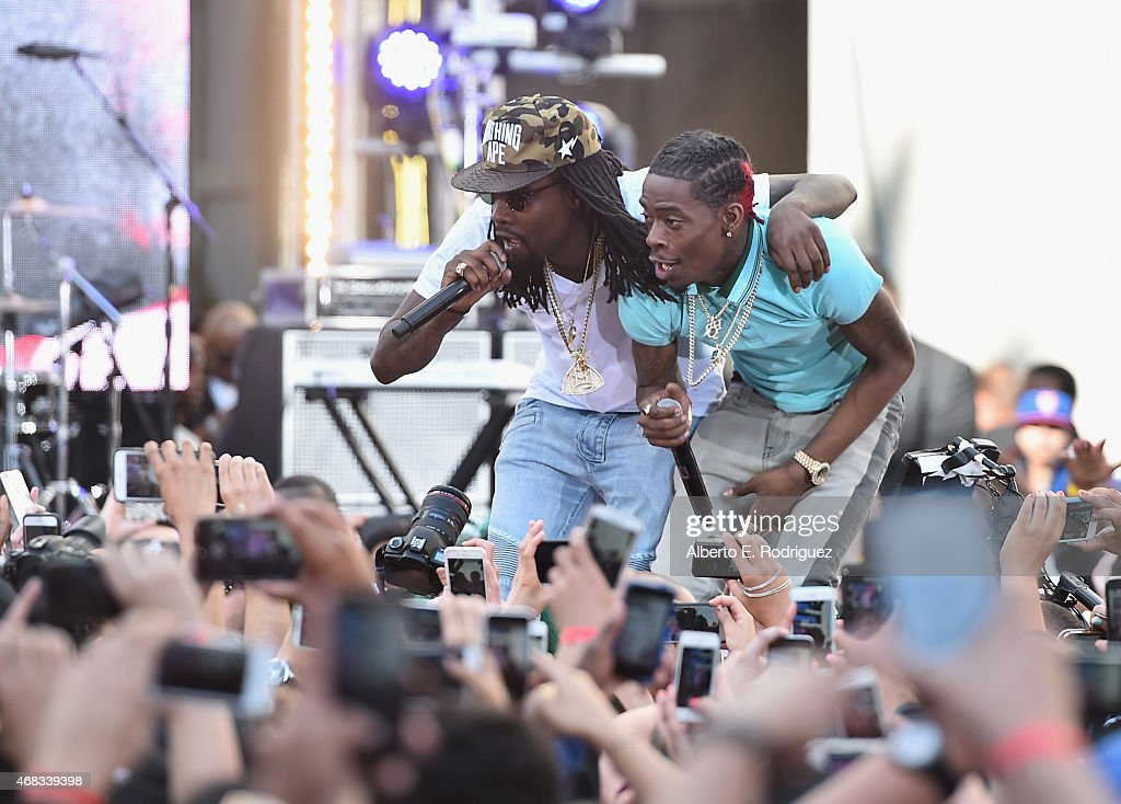 Rappers Wale and Rich Homie Quan perform at Revolt Live Hosts Exclusive 'Furious 7' Takeover with Musical Performances From the Official Motion...