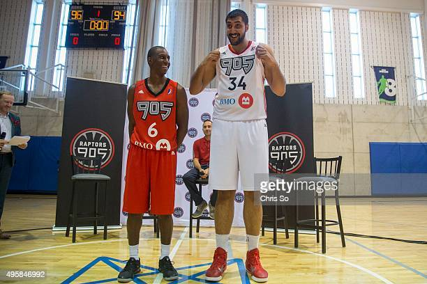 Raptors 905 during training practice at the Mississauga Sports Complex
