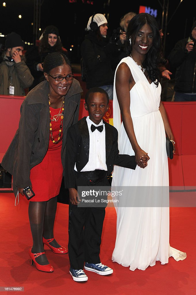 Rapule Hendricks and Rayna Campbell attend the 'Layla Fourie' Premiere during the 63rd Berlinale International Film Festival at the Berlinale Palast on February 11, 2013 in Berlin, Germany.