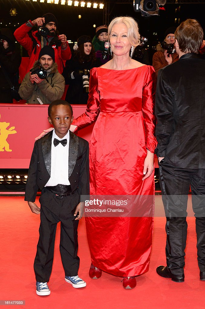 Rapule Hendricks and Terry Norton attend the 'Layla Fourie' Premiere during the 63rd Berlinale International Film Festival at the Berlinale Palast on February 11, 2013 in Berlin, Germany.