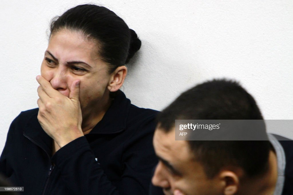 Raquel Alatorre Correa, indicted for being the leader of a group of 18 people charged with money laundering, organized crime and drug trafficking, attends the fifth day of her trial hearing, in Managua, on December 19, 2012. The accused were arrested on August 22 whilst attempting to enter the country using Mexican passports and fake Televisa journalist credentials. AFP PHOTO/Inti Ocon