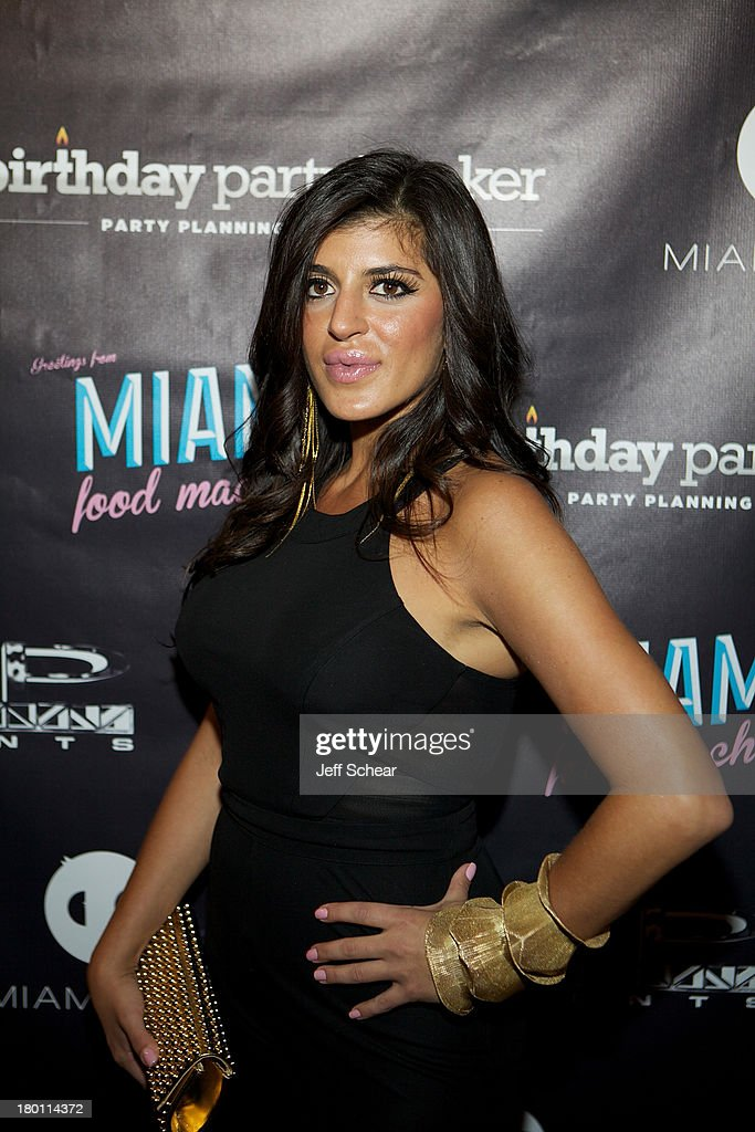 Raquel attends the MIAMI MONKEY Premiere Party Presented By JustJenn Productions And The Weinstein Company at 49 Grove on September 8, 2013 in New York City.