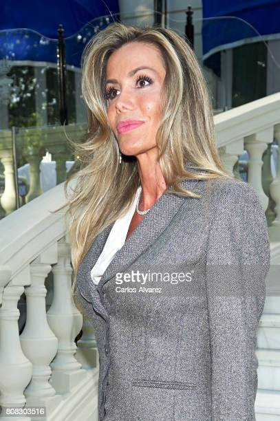 Raquel Bernal attends 'Corazon Solidario' awards 2017 at the Ritz Hotel on July 4 2017 in Madrid Spain