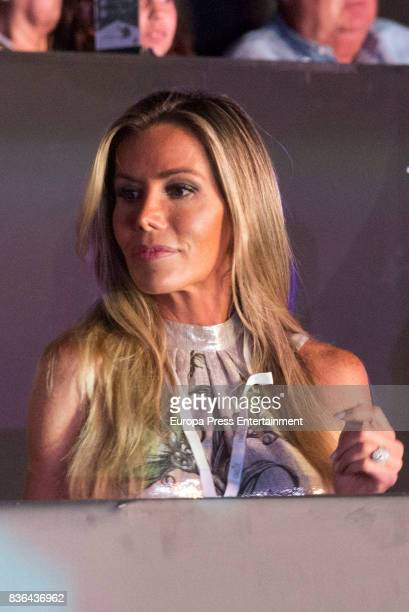 Raquel Bernal attends Miguel Bose concert on August 4 2017 in Marbella Spain