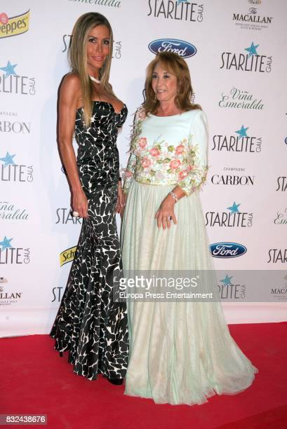 Raquel Bernal attends Starlite Gala on August 13 2017 in Marbella Spain