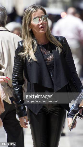 Raquel Bernal is seen on April 10 2017 in Malaga Spain