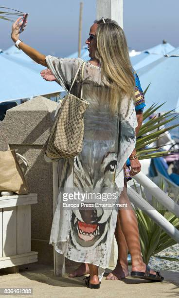 Raquel Bernal is seen on August 6 2017 in Marbella Spain