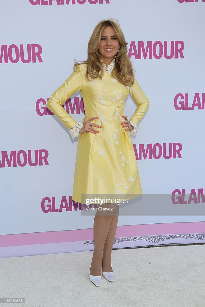 Raquel Bigorra attends the Glamour Magazine México Beauty Awards 2013 at Museo Rufino Tamayo on February 13, 2014 in Mexico City, Mexico.
