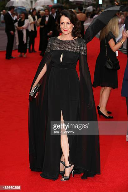 Raquel Cassidy attends as BAFTA celebrate 'Downton Abbey' at Richmond Theatre on August 11 2015 in Richmond England