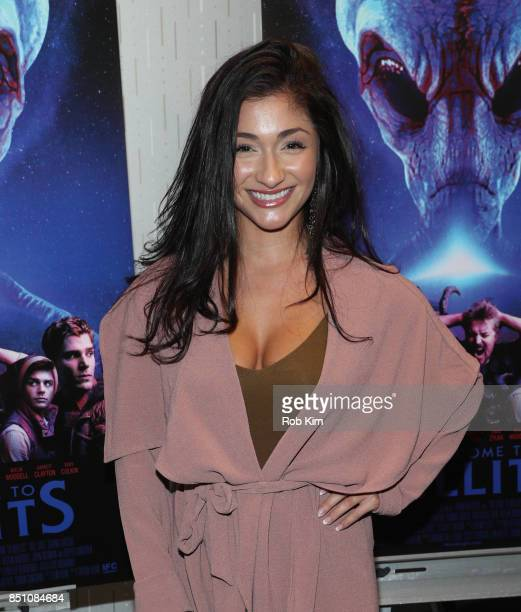 Raquel Castro attends the premiere of 'Welcome To Willits' at IFC Center on September 21 2017 in New York City