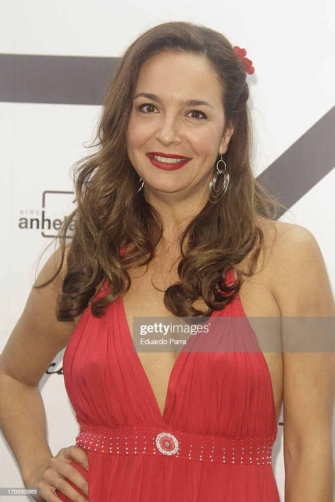 Raquel Infante attends 'Bendita locura' new collection party photocall at Villamagna hotel on June 11, 2013 in Madrid, Spain.