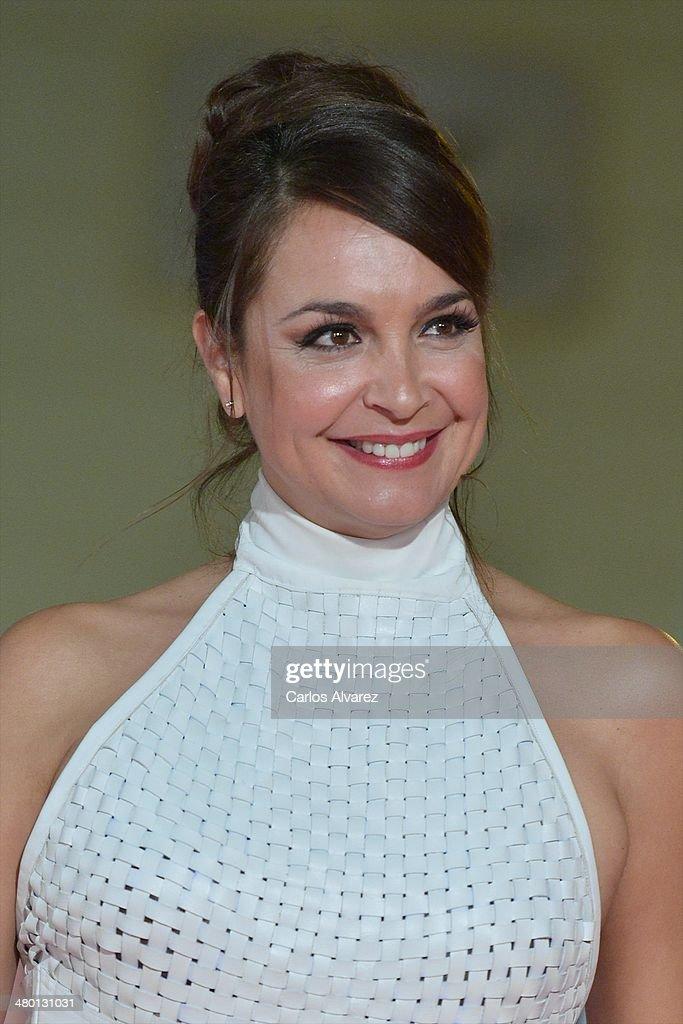 Raquel Infante attends the 'Carmina y Amen' premiere during the 17th Malaga Film Festival at the Cervantes Theater on March 22, 2014 in Malaga, Spain.