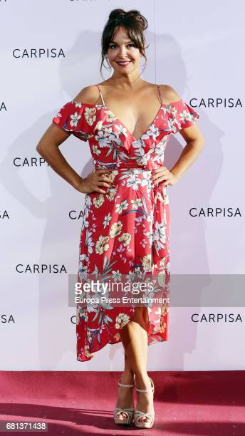 Raquel Infante attends the opening of new Carpisa stores on May 9 2017 in Madrid Spain