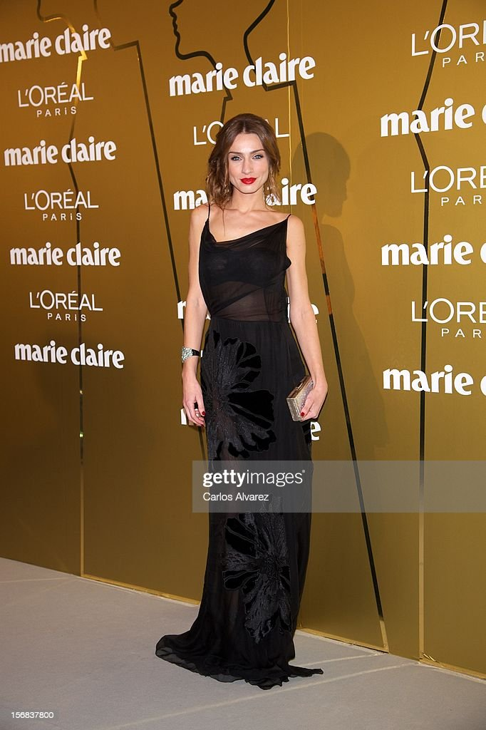 Raquel Jimenez attends Marie Claire Prix de la Moda Awards 2012 at the French Embassy on November 22, 2012 in Madrid, Spain.